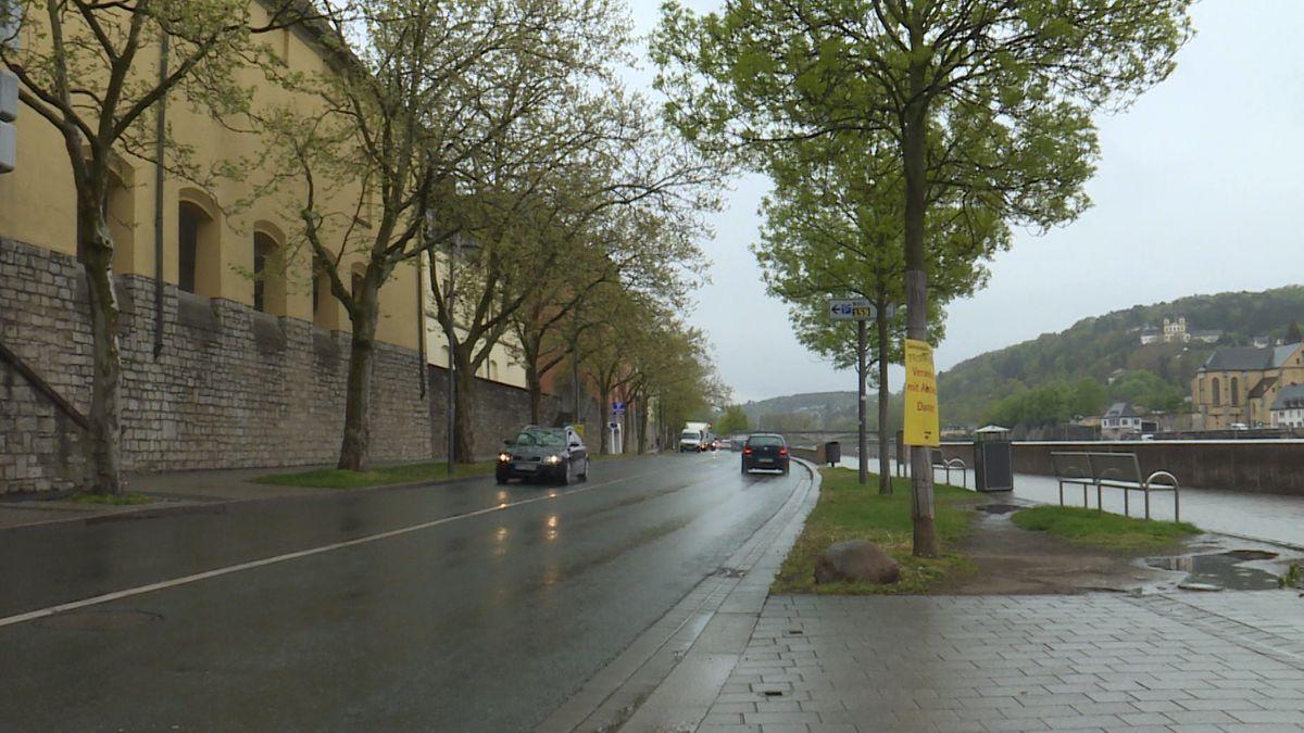 Der Obere Mainkai in Würzburg