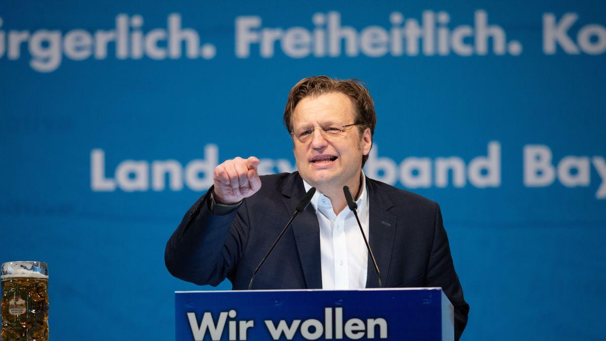 Gerd Mannes (AfD), Mitglied des Bayerischen Landtages