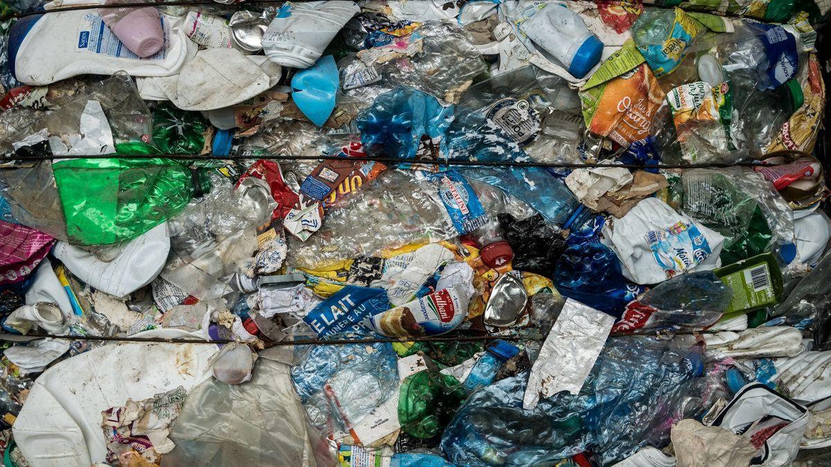Müll recyceln