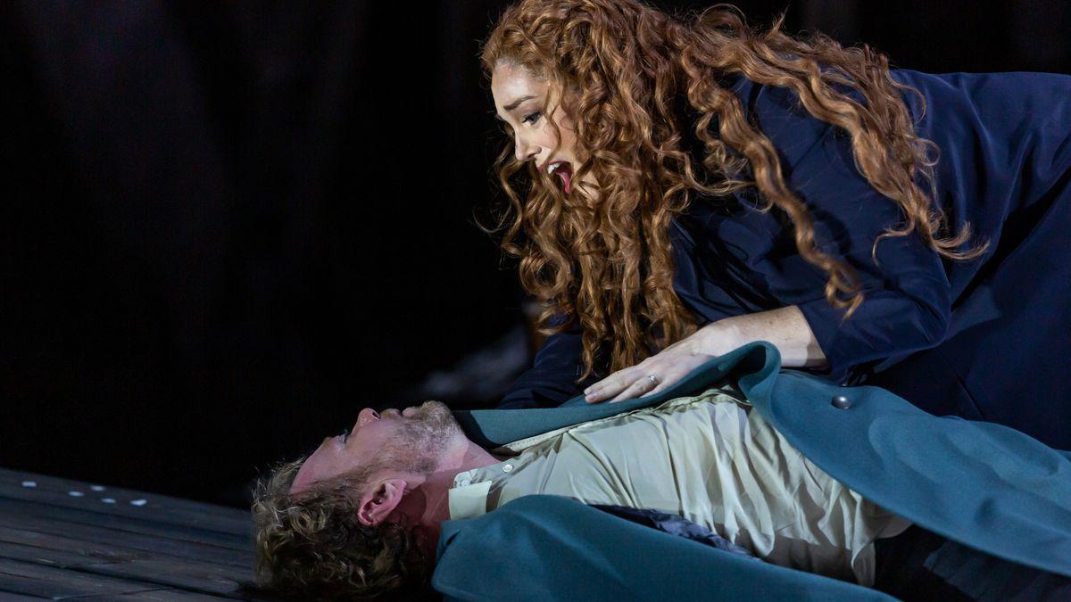 Isolde betrauert Tristan