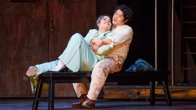 Tosca und Cavaradossi
