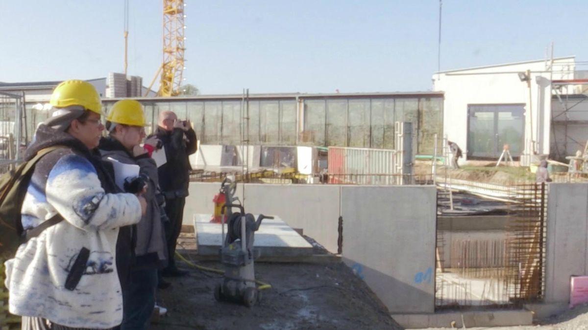 Modernisierungsarbeiten an der Franken-Therme Bad WIndsheim
