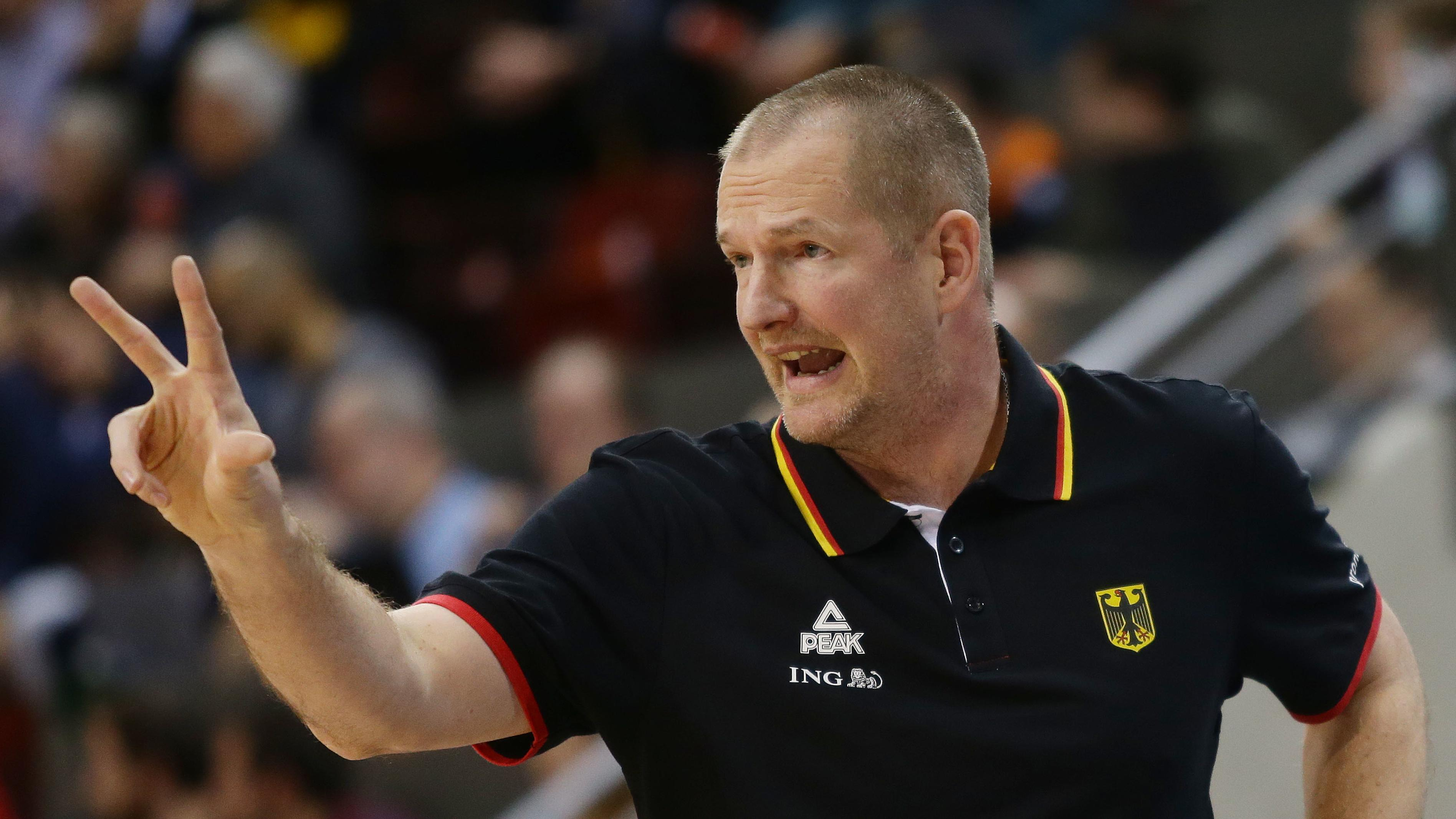 Bundestrainer Henrik Rödl