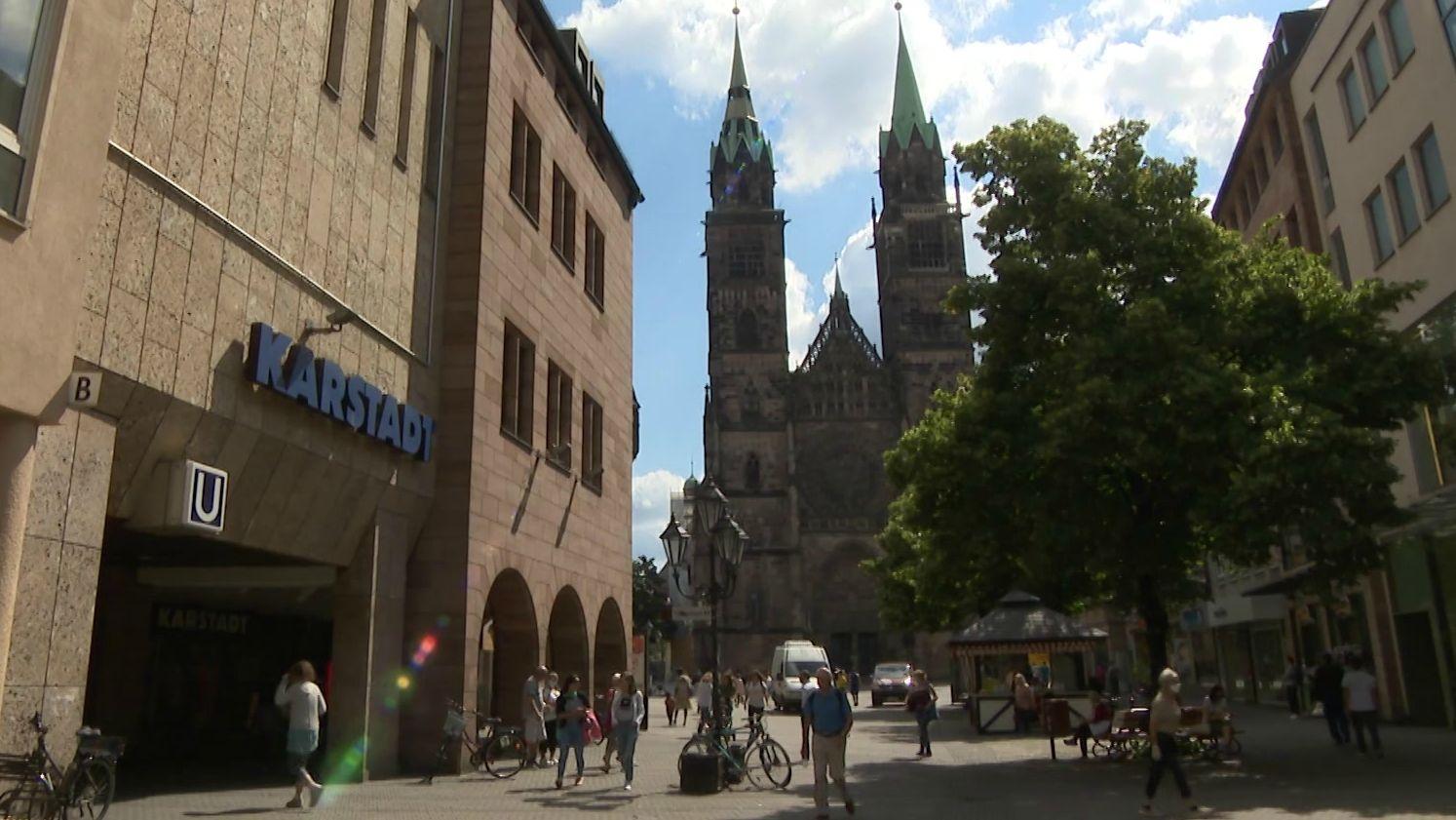 Karstadt-Filiale in der Nürnberger Innenstadt