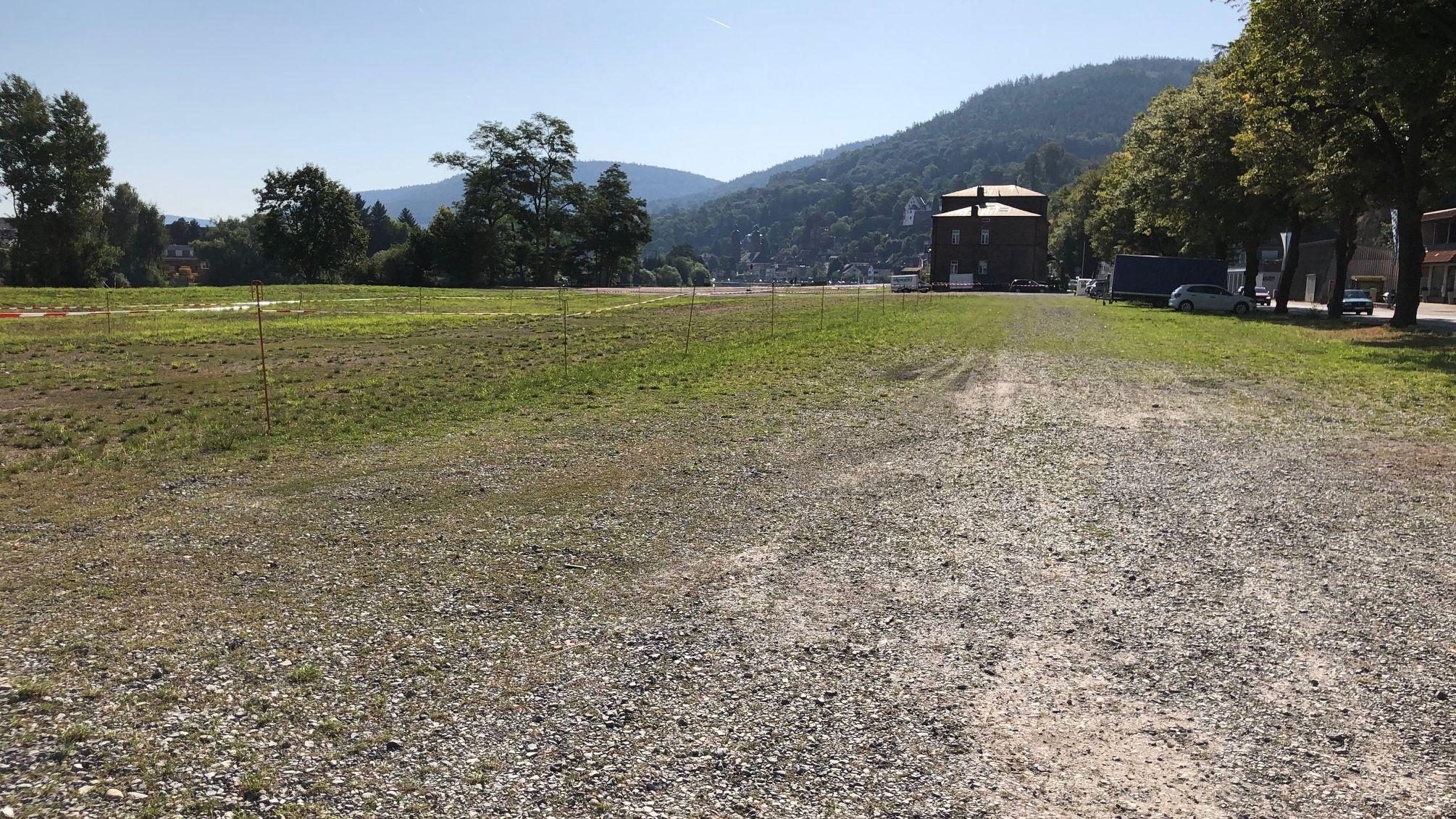 Auf dieser Fläche am Stadteingang von Miltenberg soll ein neues Märktezentrum entstehen.