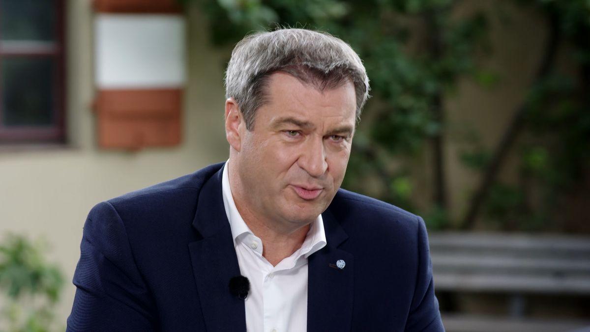 Markus Söder (CSU), bayerischer Ministerpräsident im Sommerinterview