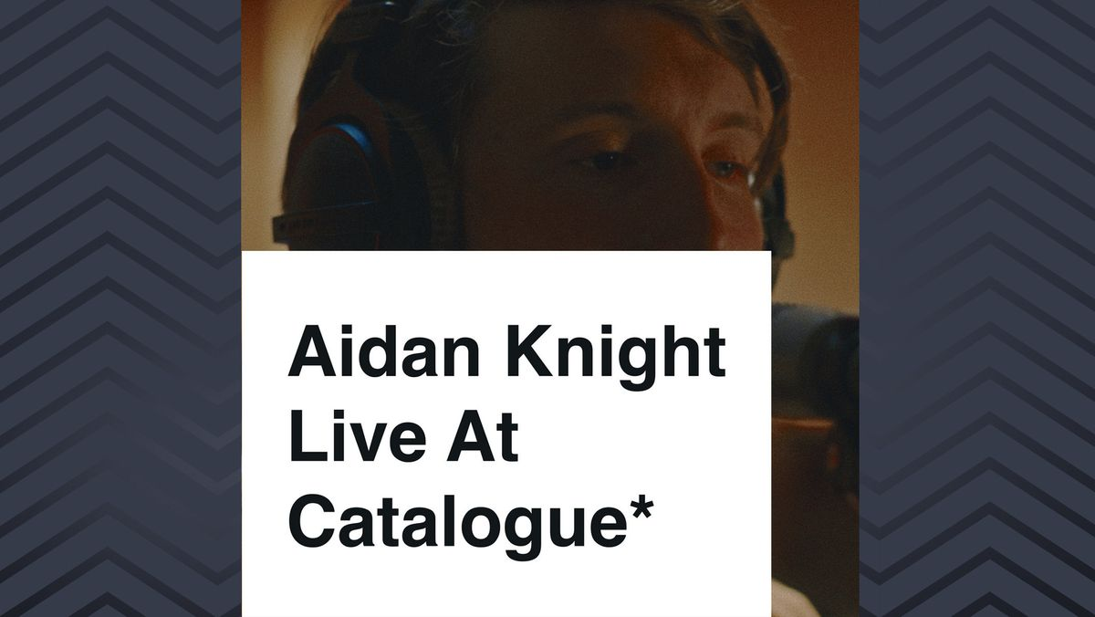 "Das Album ""Live At The Catalogue"" von Aidan Knight"