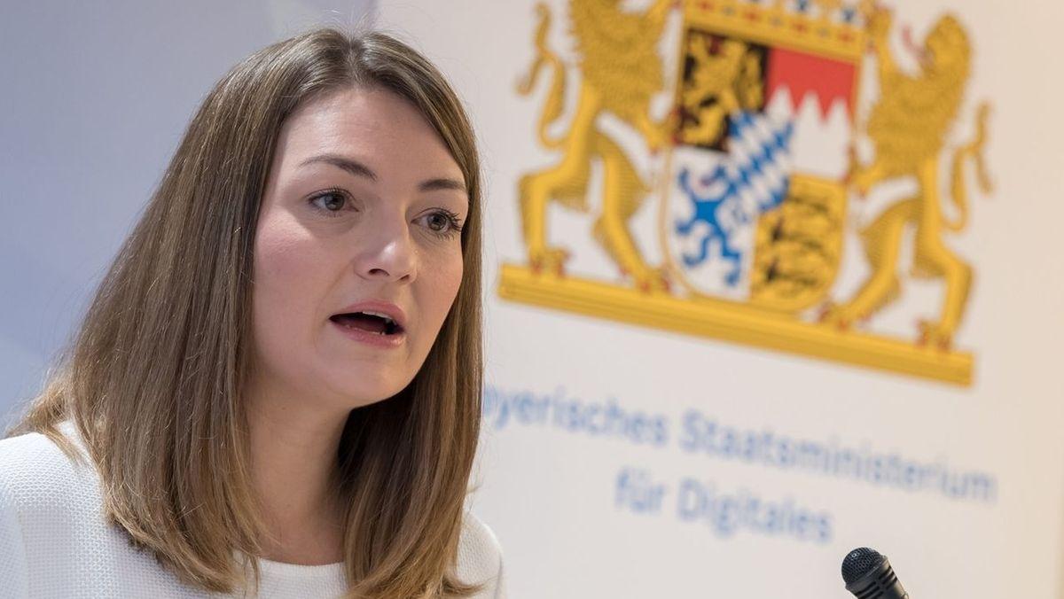 Judith Gerlach (CSU), bayerische Staatsministerin für Digitales