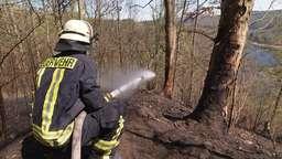 Brand in Thüringen | Bild:BR24