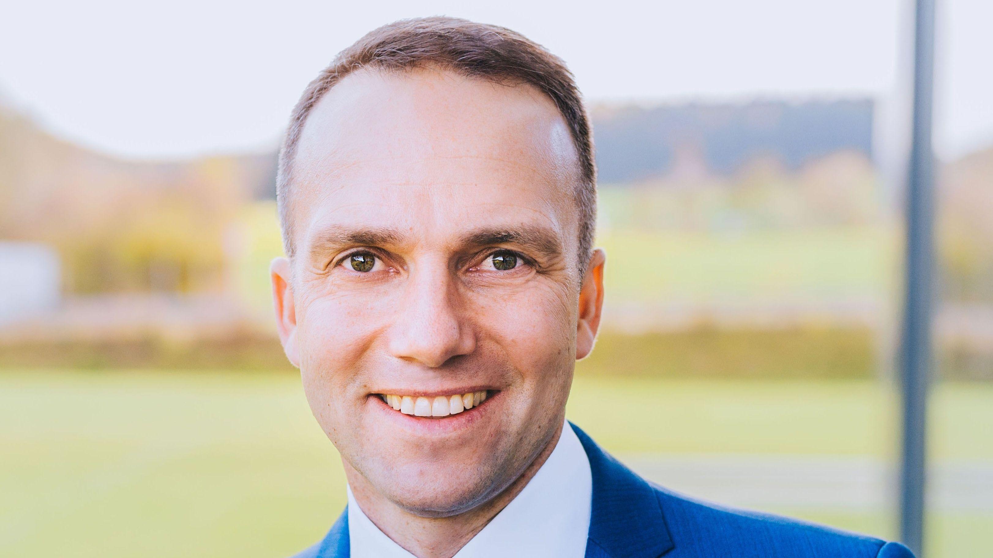 Wahlsieger Armin Grassinger von der UWG.