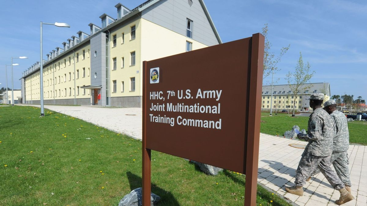 Kaserne der US Army in Grafenwöhr