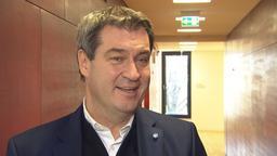 CSU-Parteichef Markus Söder | Bild:BR