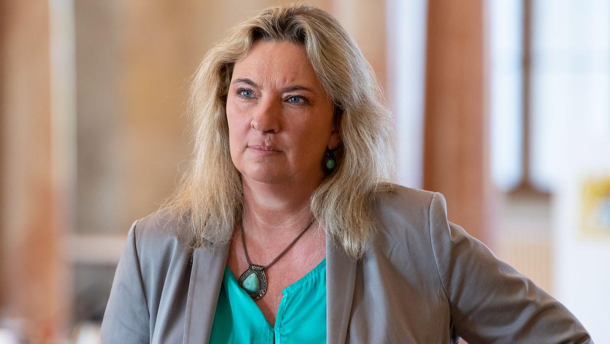 Die bayerische Verkehrsministerin Kerstin Schreyer