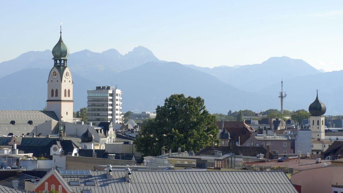 Stadtansicht von Rosenheim (Symbolbild).