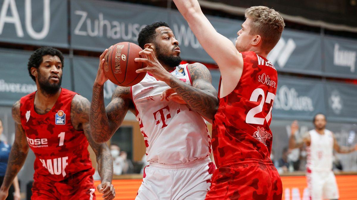 Spielszene Würzburg gegen Bonn