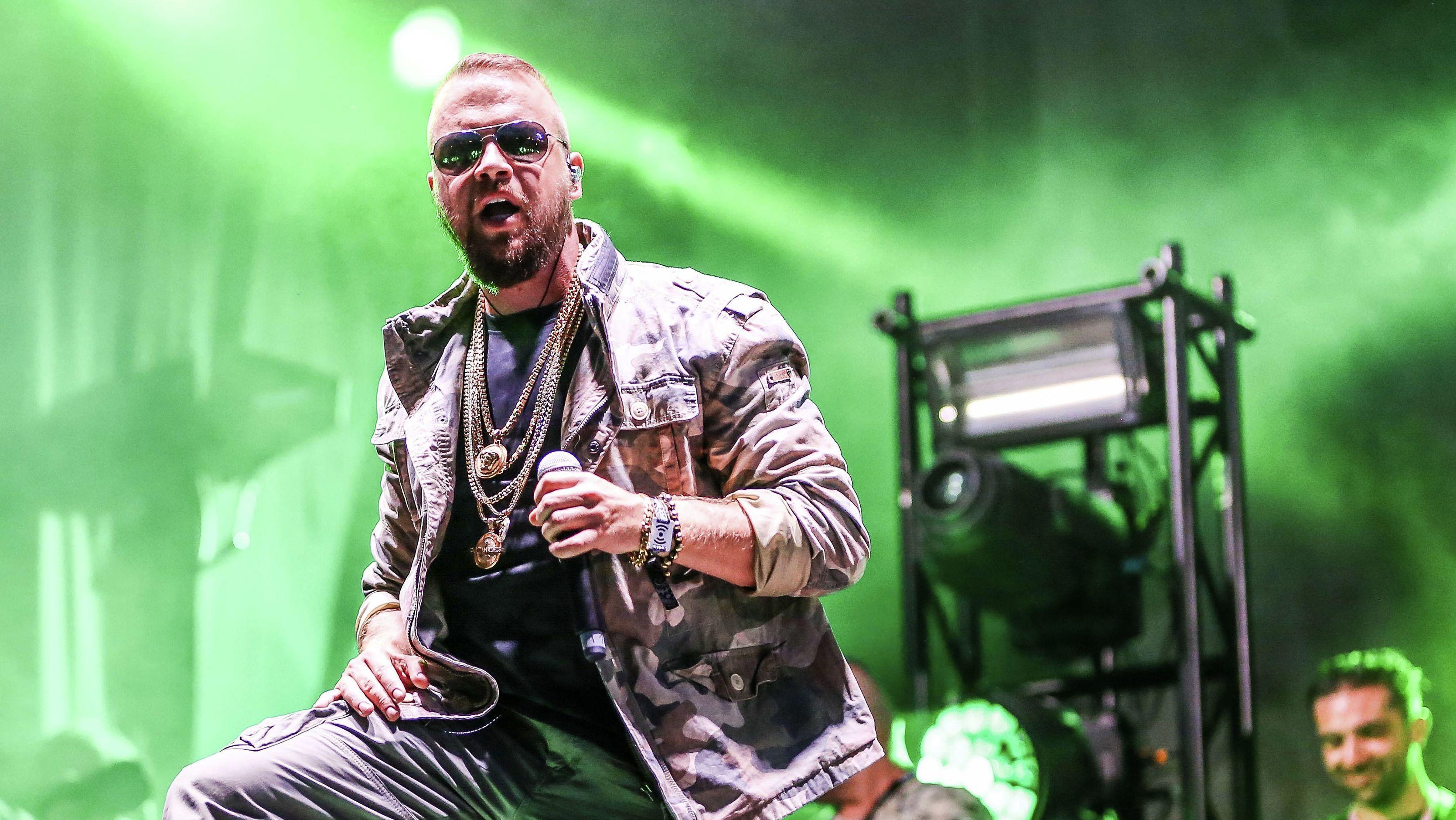 Rapper Kollegah bei einem Auftritt