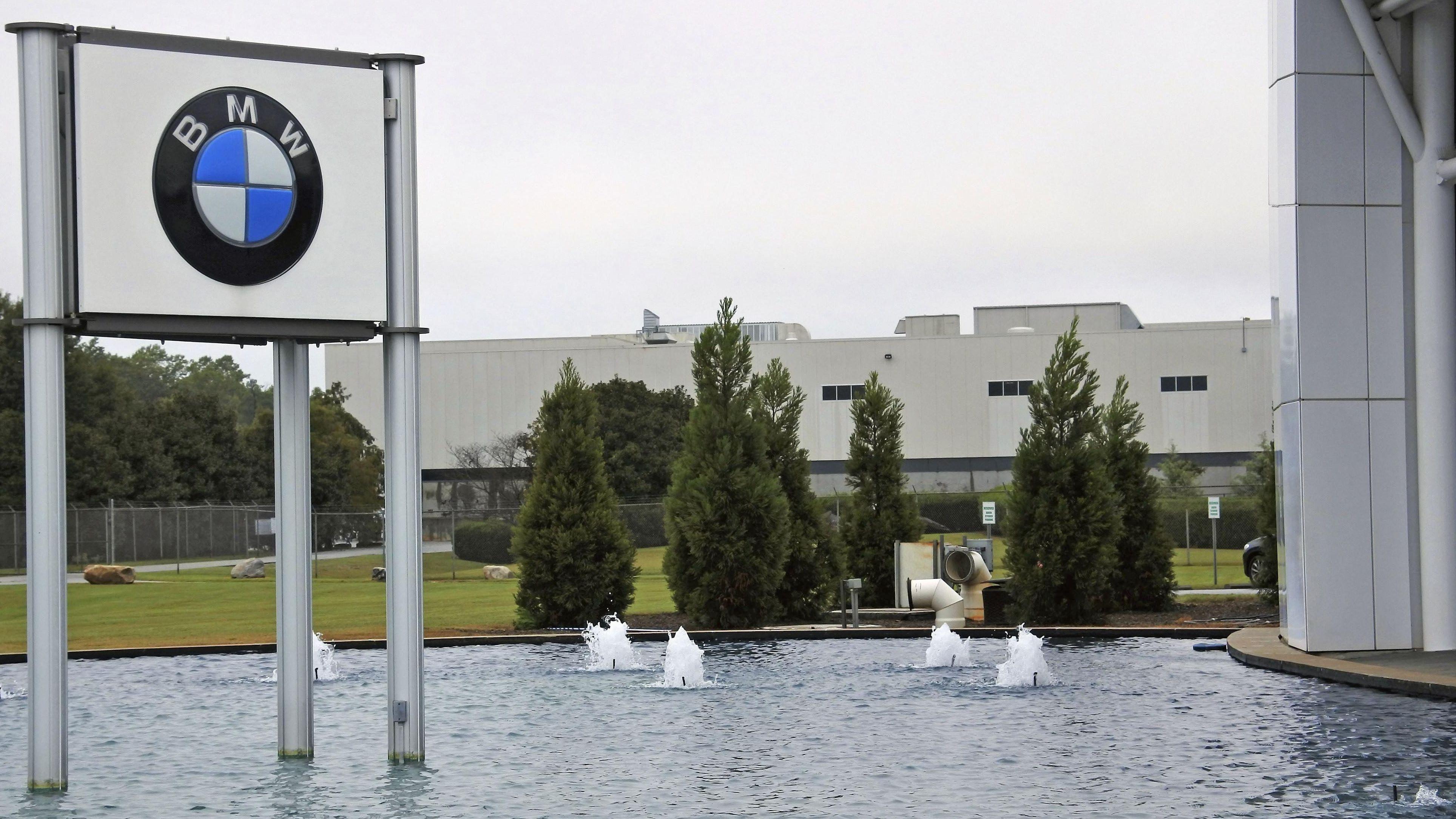 BMW Werk Spartanburg im US-Bundesstaat South Carolina