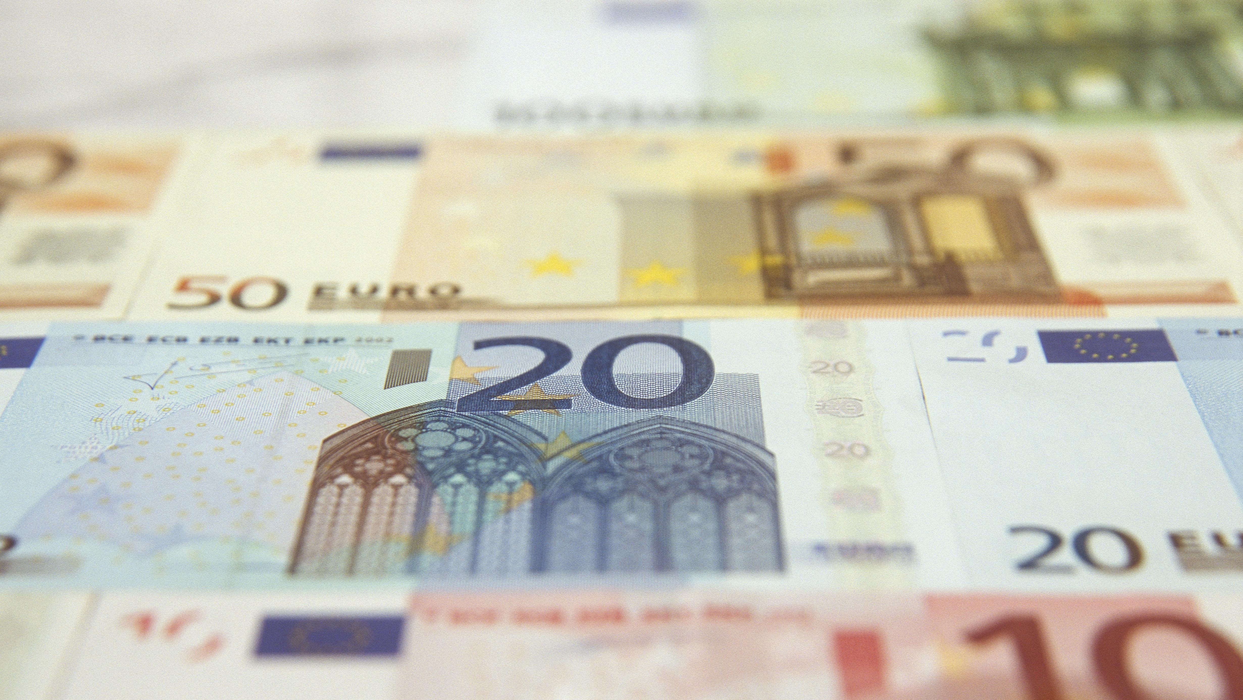 Euro-Geldscheine (Symbolbild)