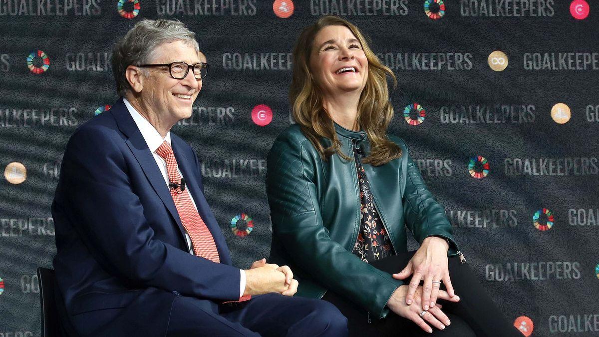 Bill und Melinda Gates im September 2018.