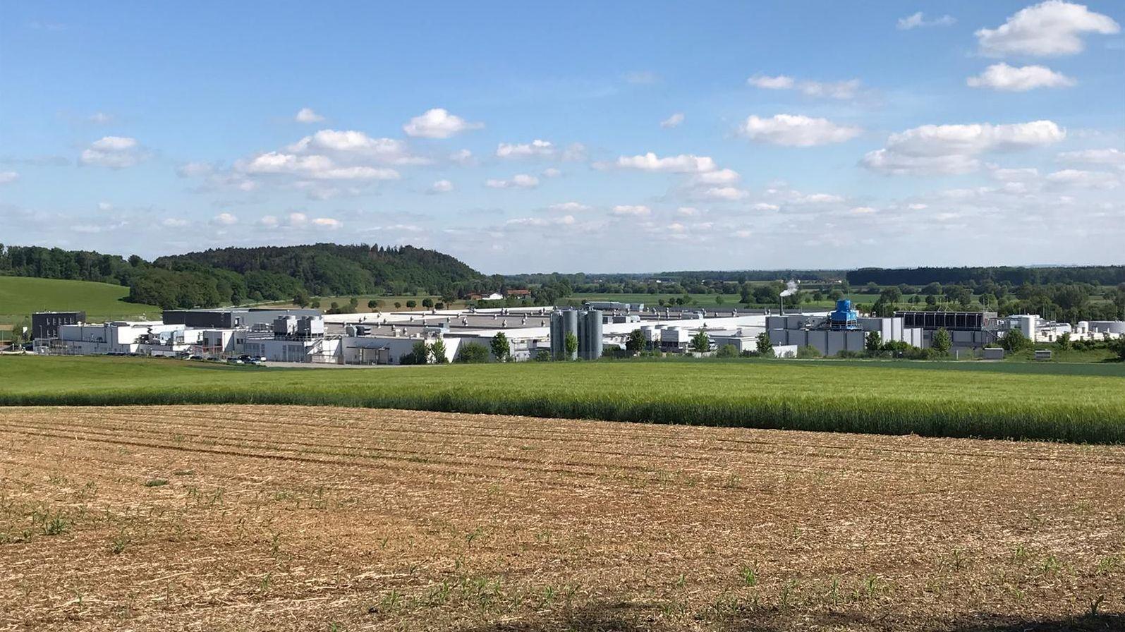 Der betroffene Schlachthof im Kreis Straubing-Bogen