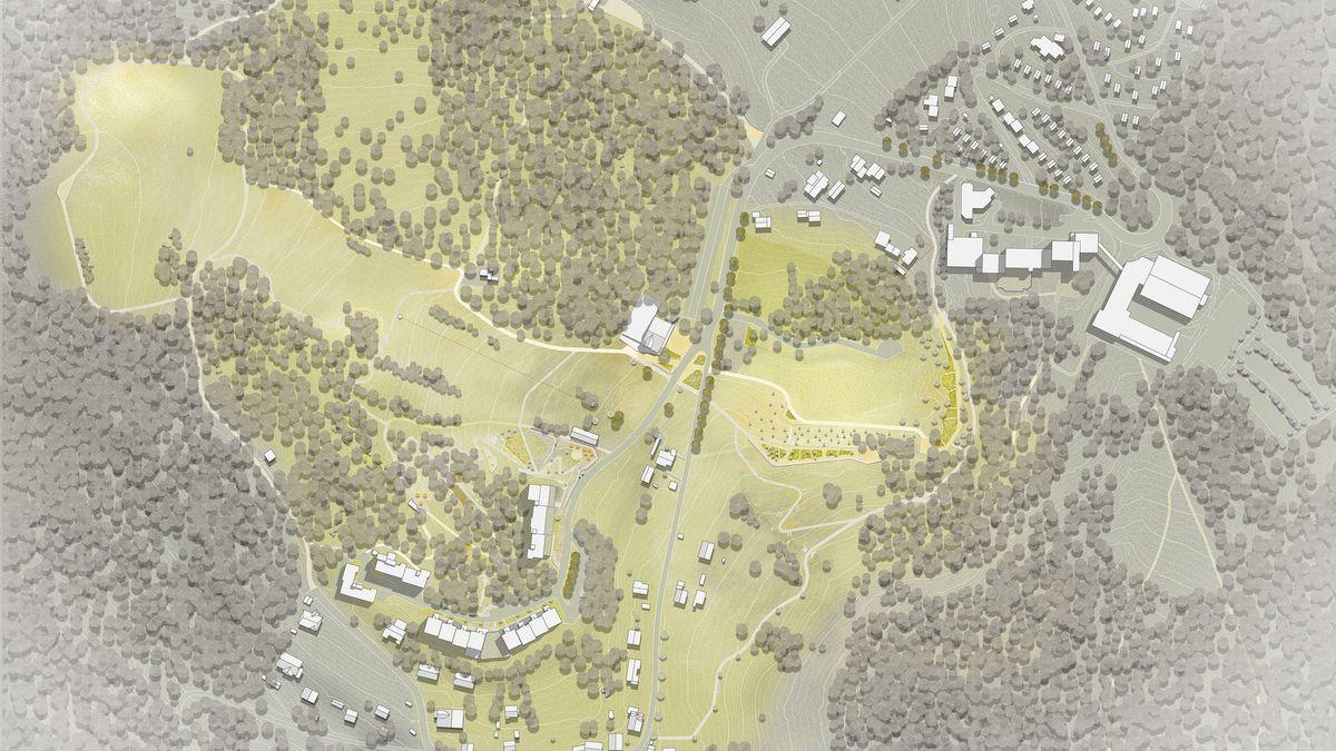 Ausschnitt aus der Planung für die Landesgartenschau