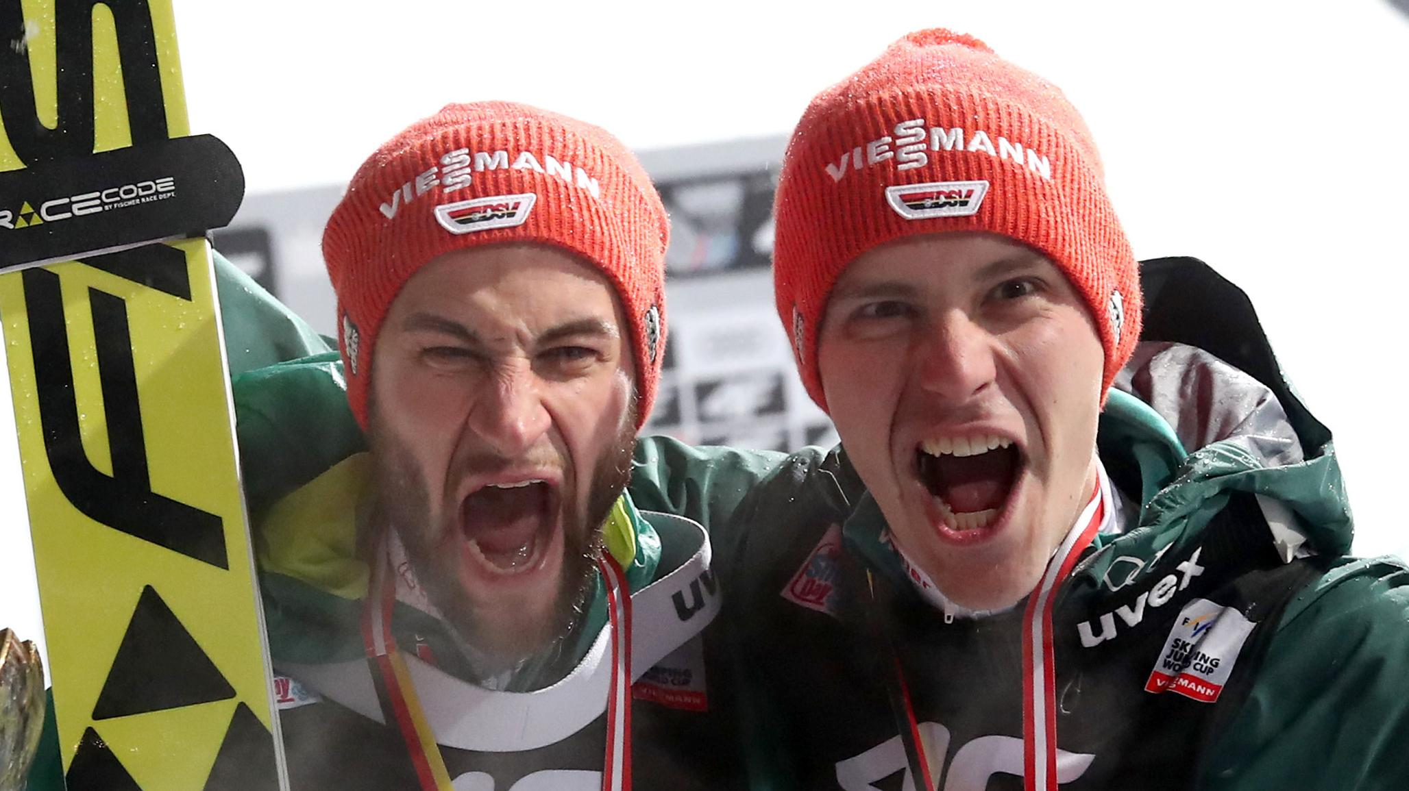 Markus Eisenbichler und Stephan Leyhe