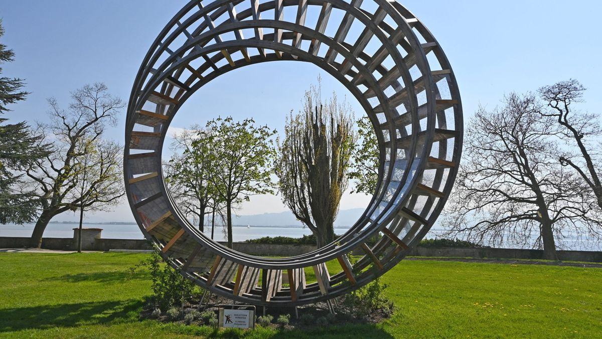 """Der """"Ring for Peace"""" auf der Gartenausstellung  2021 in Lindau"""