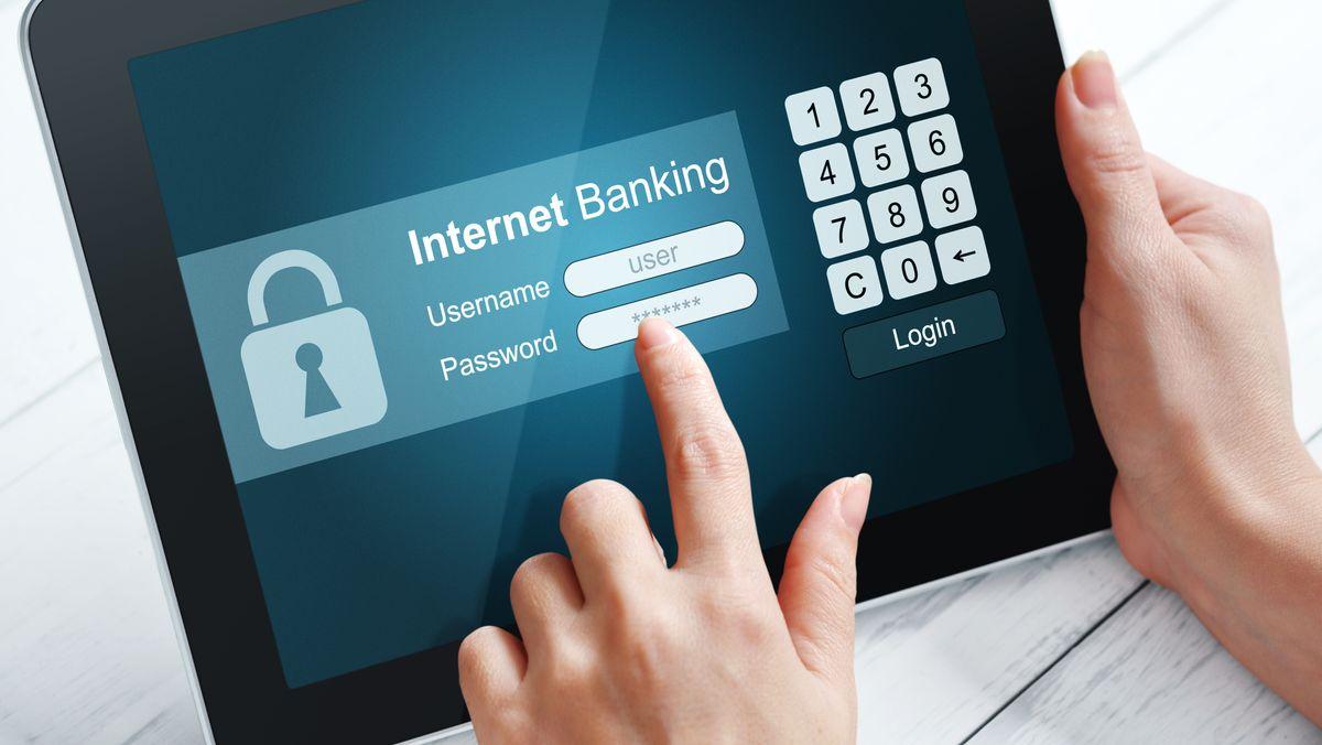 Online-Banking (Symbolbild)