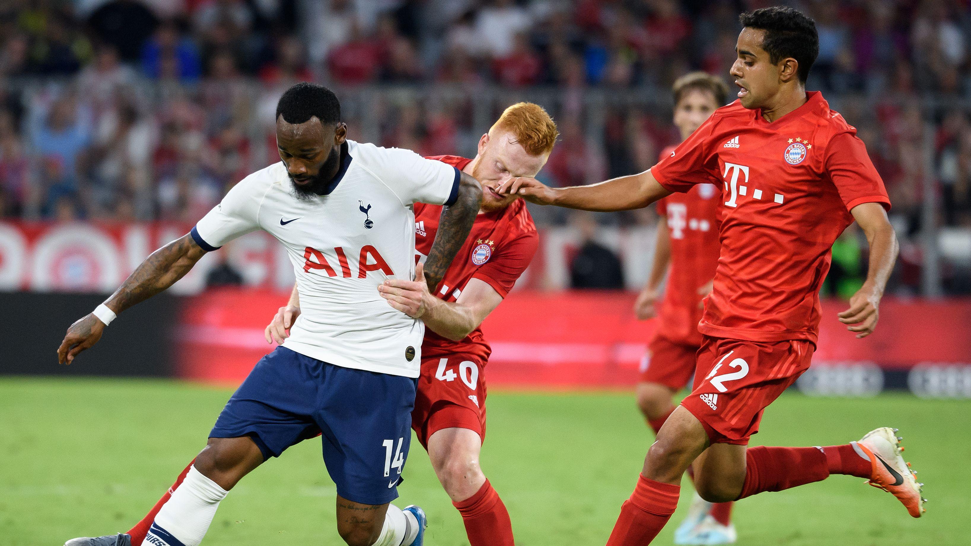 Spielszene FC Bayern München - Tottenham Hotspur