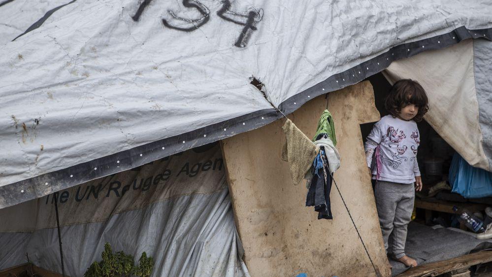 Griechische Flüchtlingslager sind überfüllt. Grünen-Vorsitzende Robert Habeck fordert, unbegleitete Flüchtlingskinder aufzunehmen.