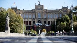 Maximilianeum in München   Bild:dpa