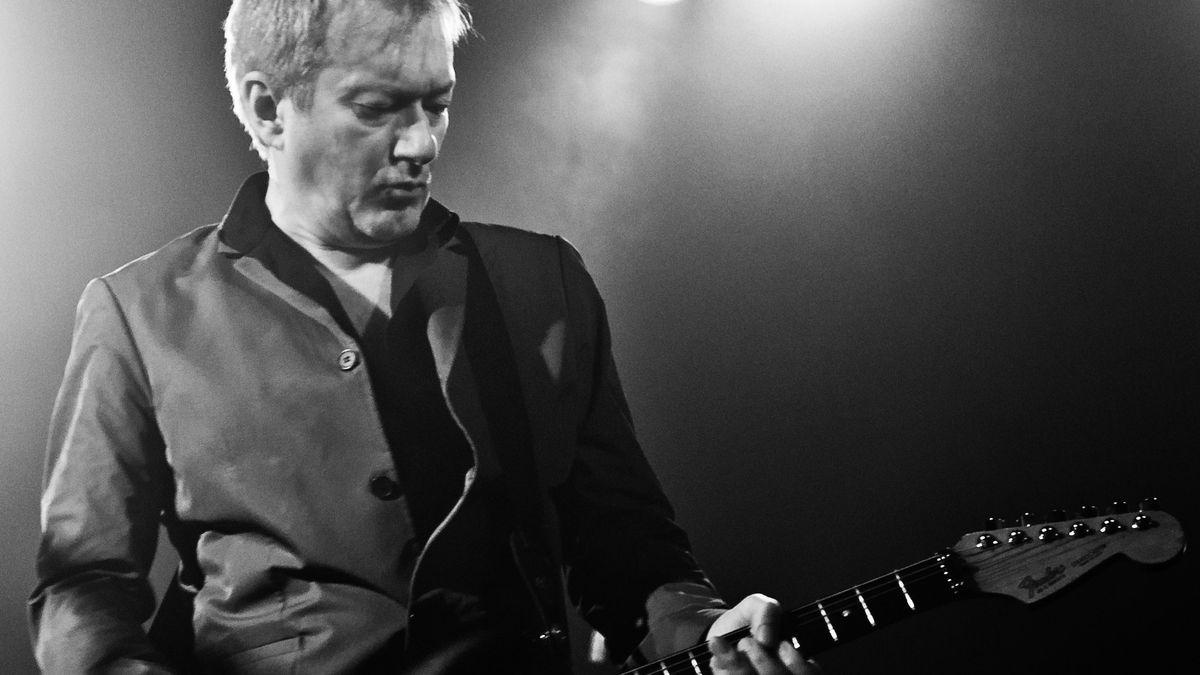 Gitarrist Andy Gill