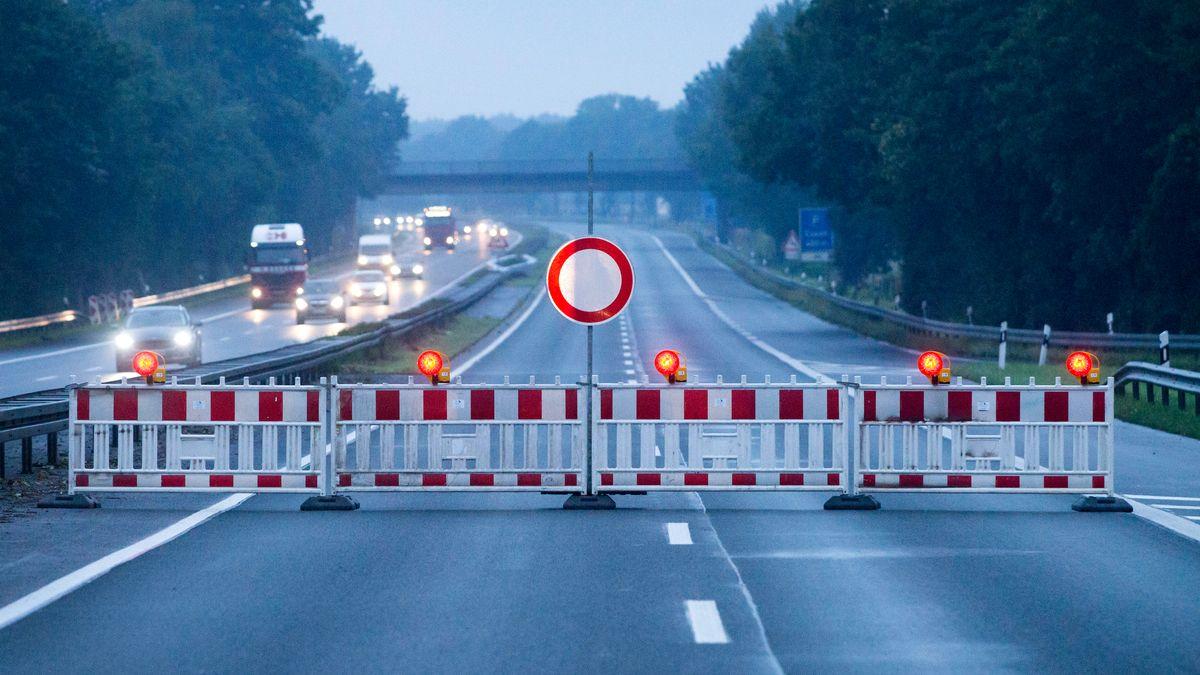 Vollsperrung der A3 bei Würzburg für Bauarbeiten