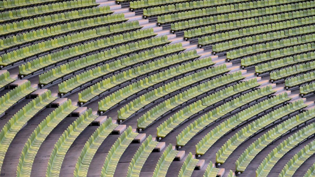 Die Sitze in Münchner Stadien bleiben leer.