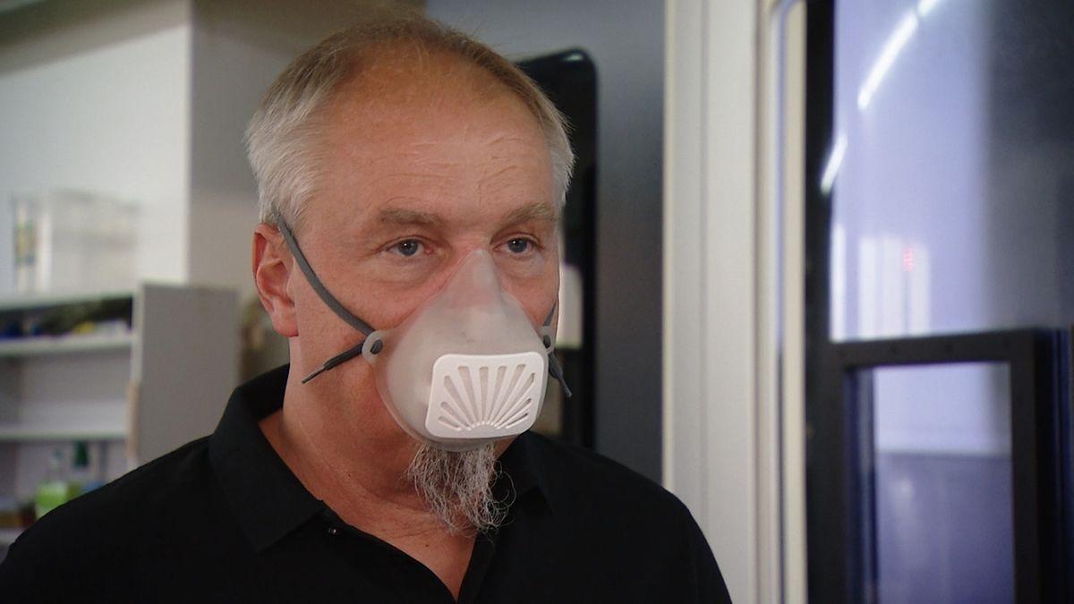 Erfinder aus Gemünden will nachhaltige Corona-Masken produzieren