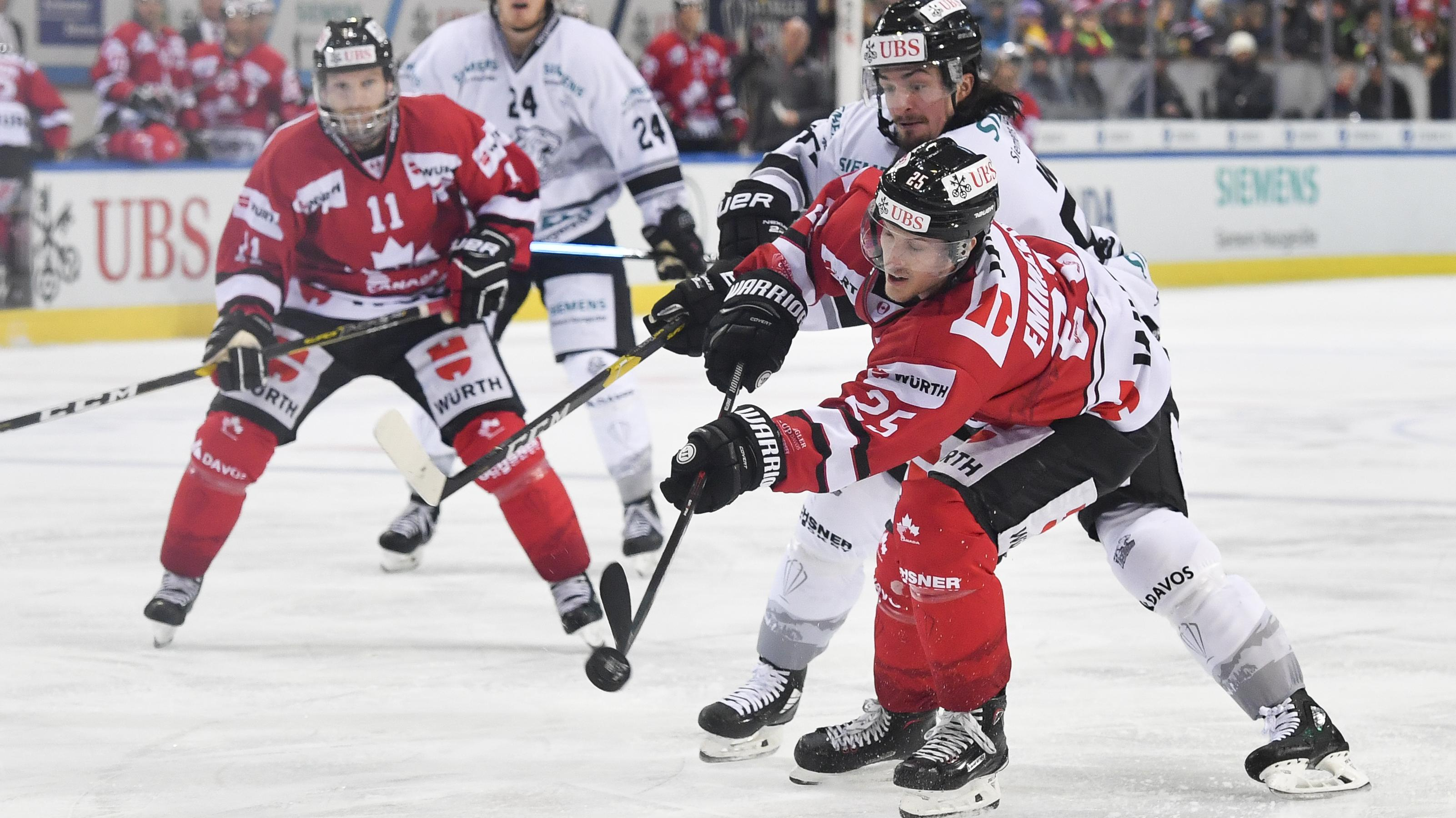 Szene aus dem Spiel Kanada gegen Nürnberg