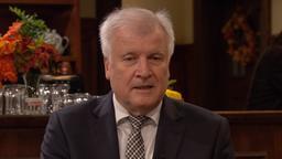 CSU-Chef und Bundesinnenminister Horst Seehofer am Sonntags-Stammtisch im BR Fernsehen | Bild:BR