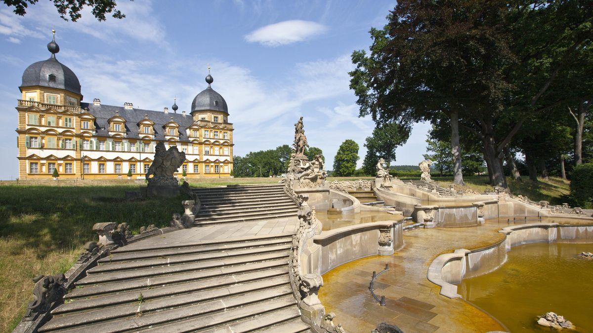 "Schloss Memmelsdorf in der ""fränkischen Toskana"""