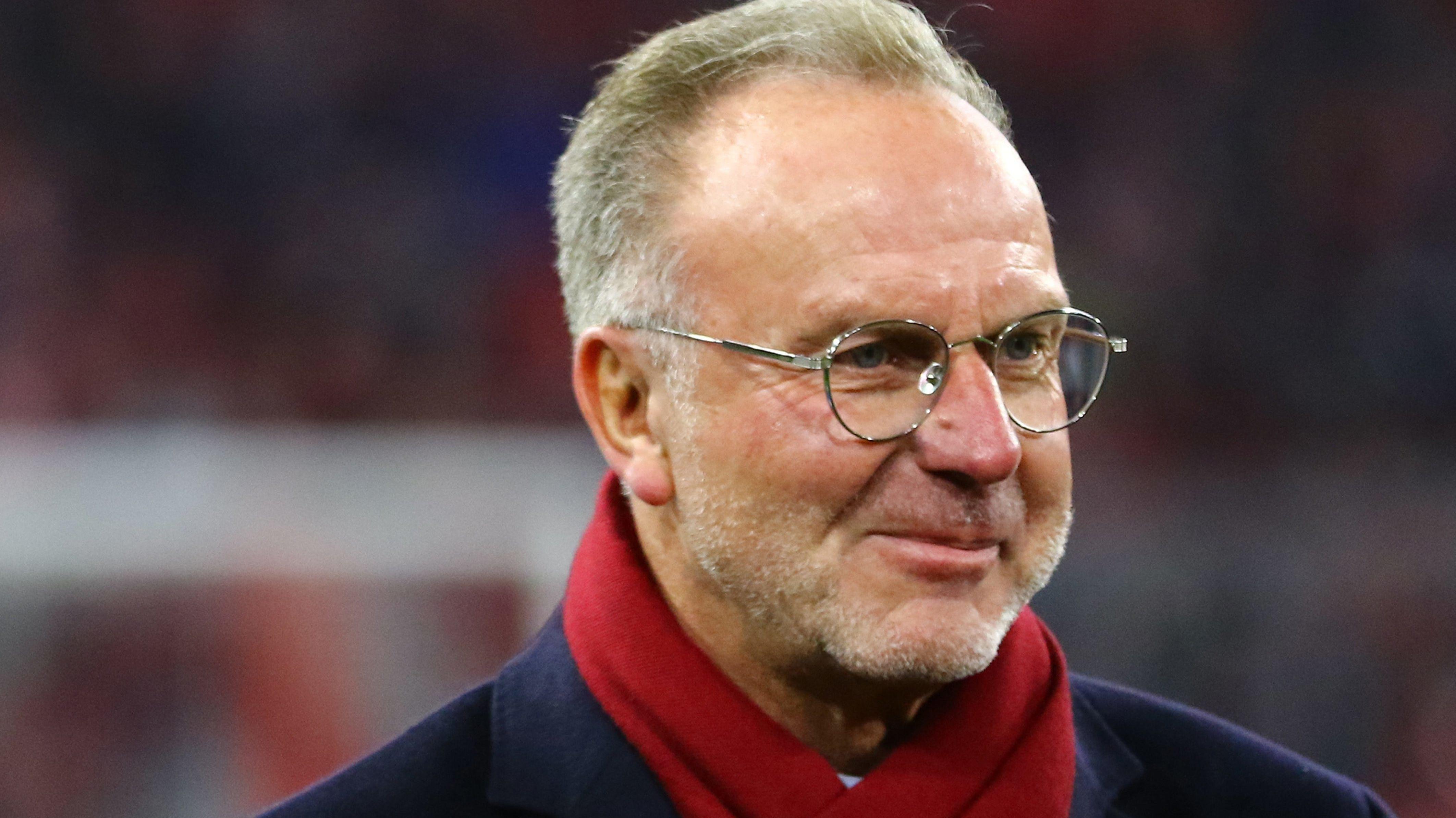 Karl-Heinz Rummenigge, Vorstandsvorsitzender der FC Bayern München AG
