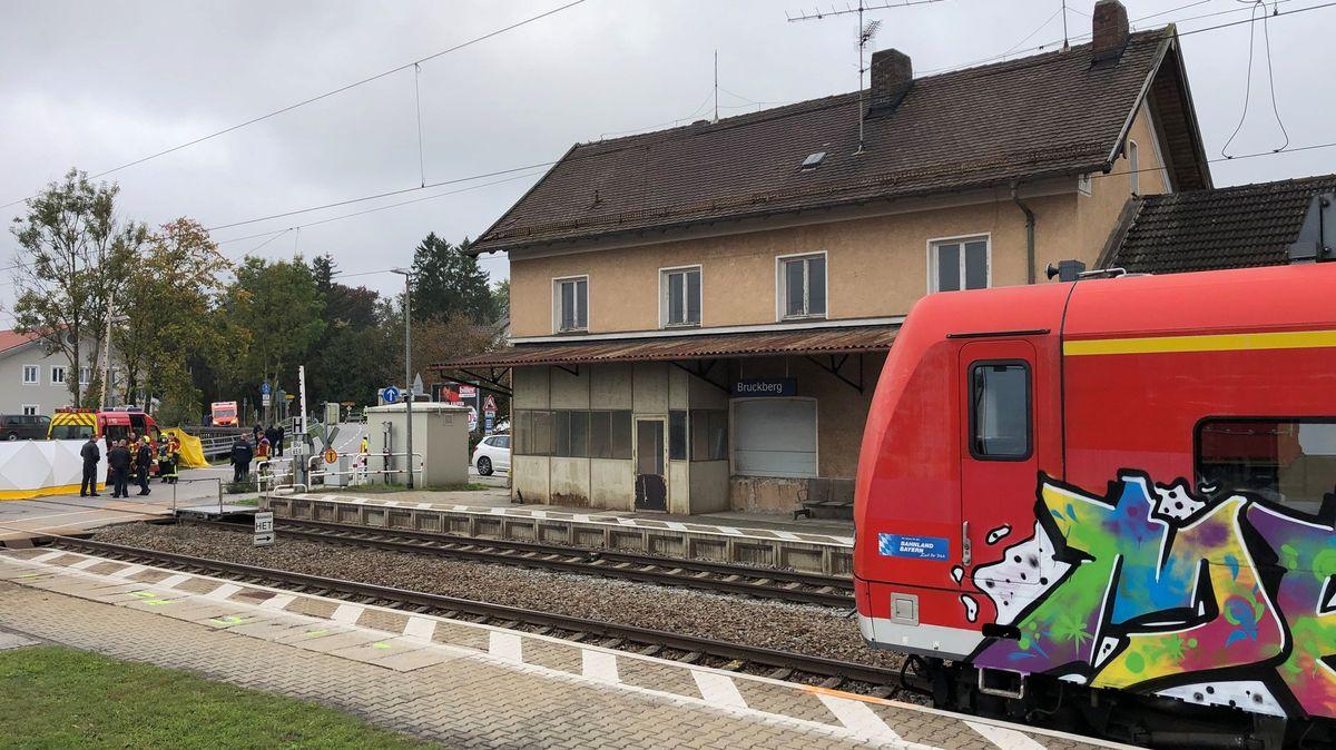 Der Bahnhof von Bruckberg