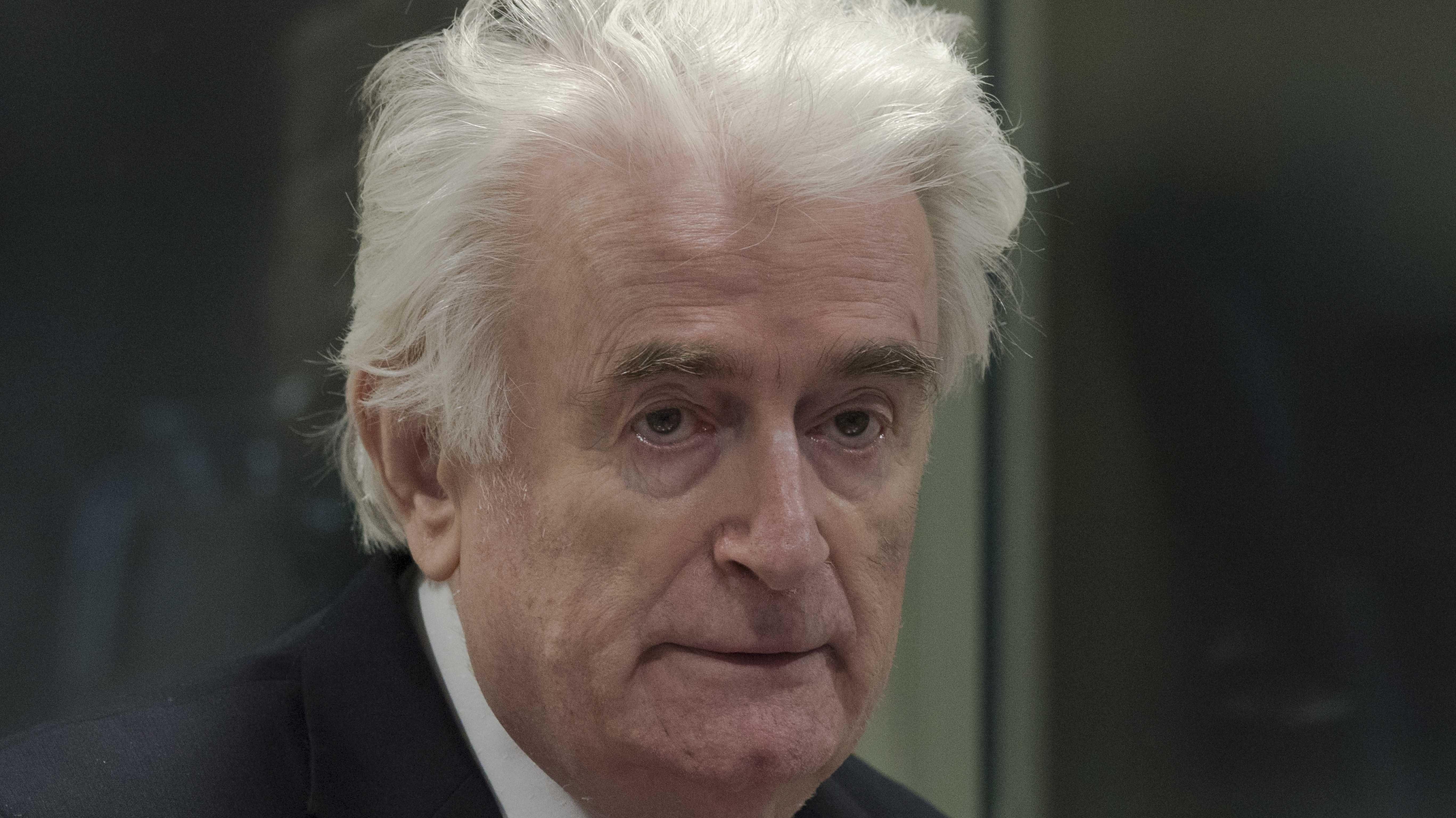 Ex-Serbenführer Karadzic vor dem UN-Tribunal