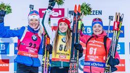 Biathlon Welt Hochfilzen | Bild:dpa-Bildfunk/Expa/Stefan Adelsberger