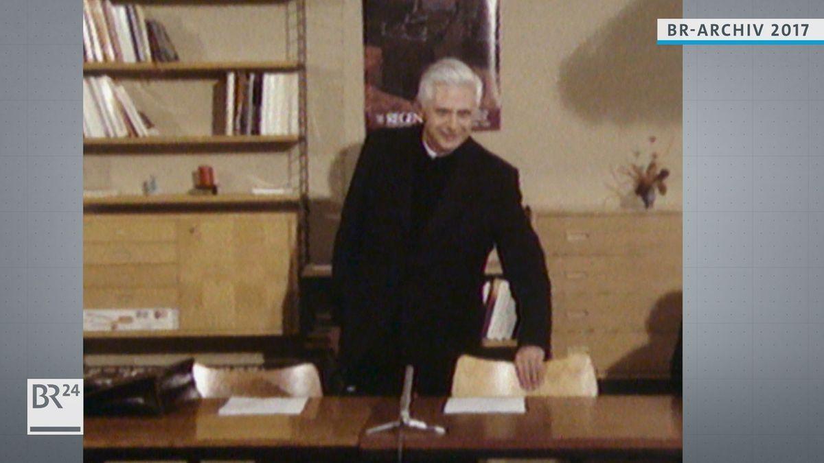 Joseph Ratzinger als Theologie in Regensburg