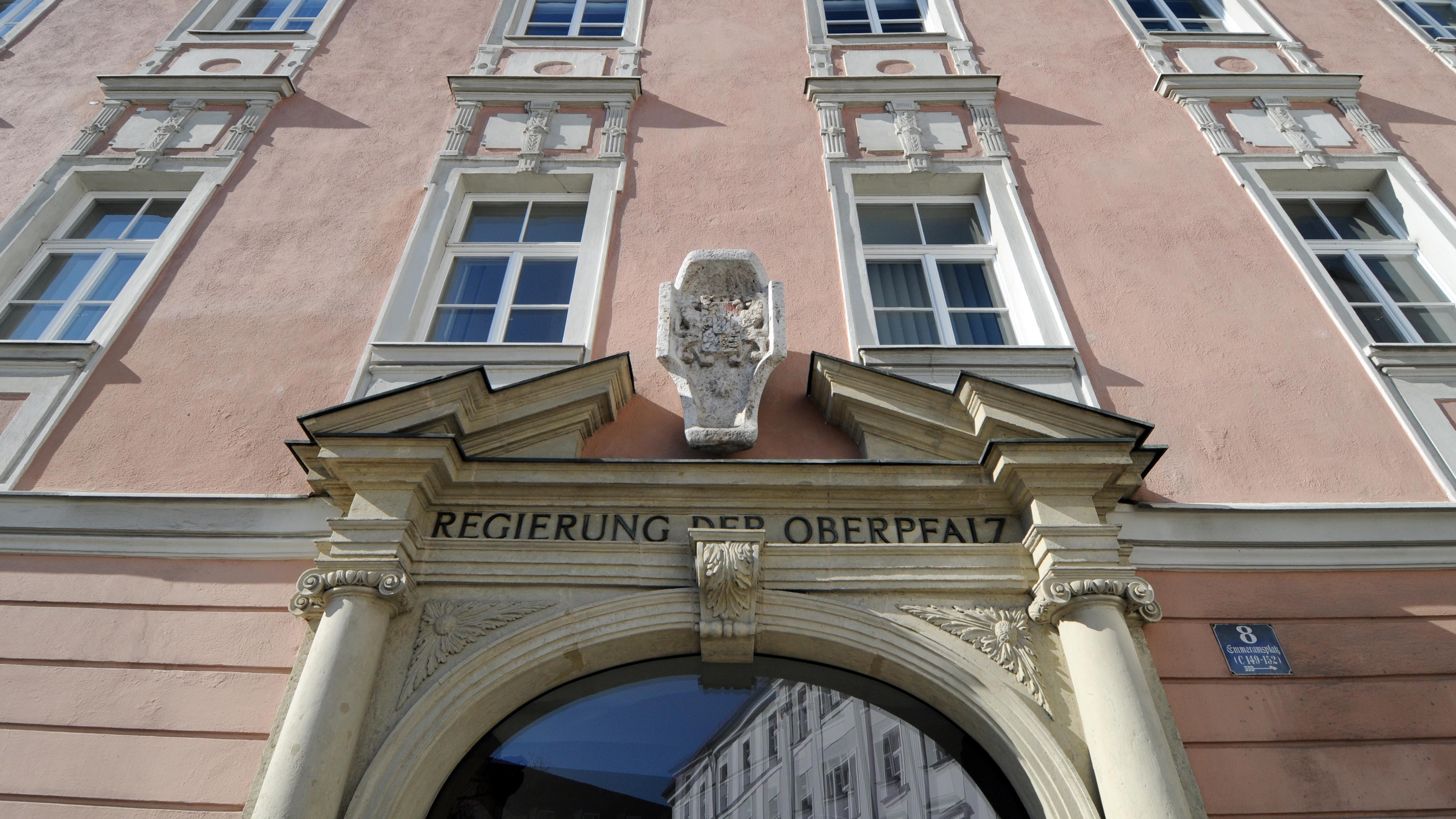 Gebäude der Bezirksregierung