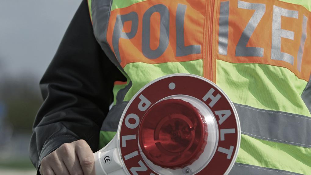 Symbolbild: Polizeikontrolle