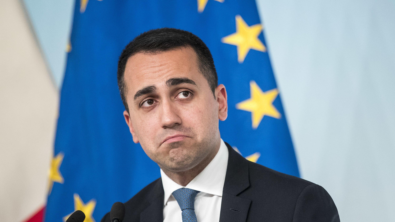 Luigi Di Maio, Ex-Chef der Fünf-Sterne-Bewegung.