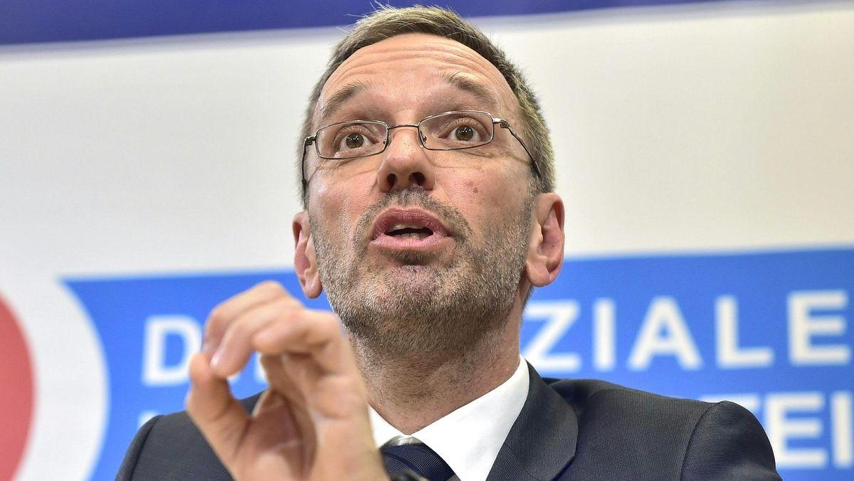 FPÖ-Innenminister Herbert Kickl