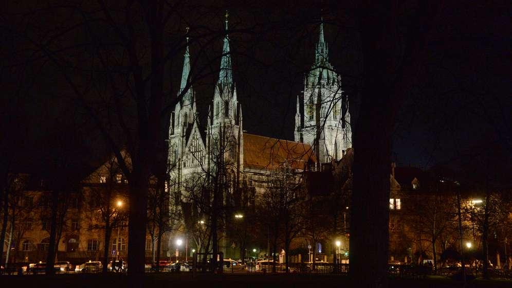 St- Pauls Kirche in der Münchner Ludwigsvorstadt | Bild:dpa / Hörhager
