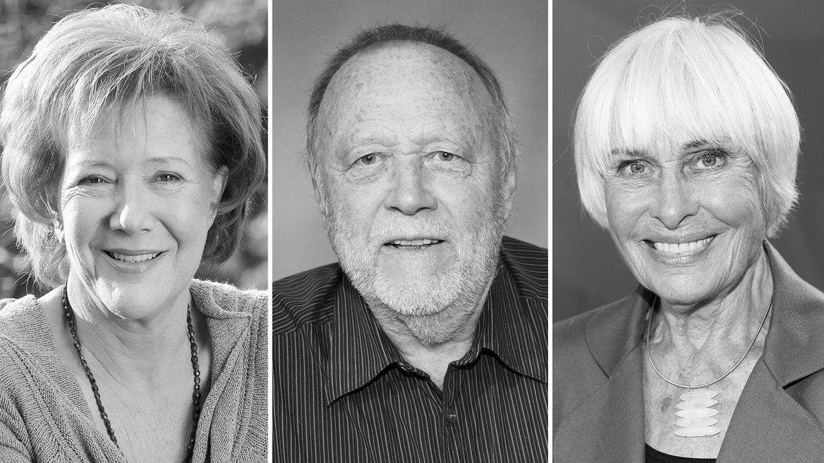 Veronika Fitz, Joseph Vilsmaier und Barbara Rütting
