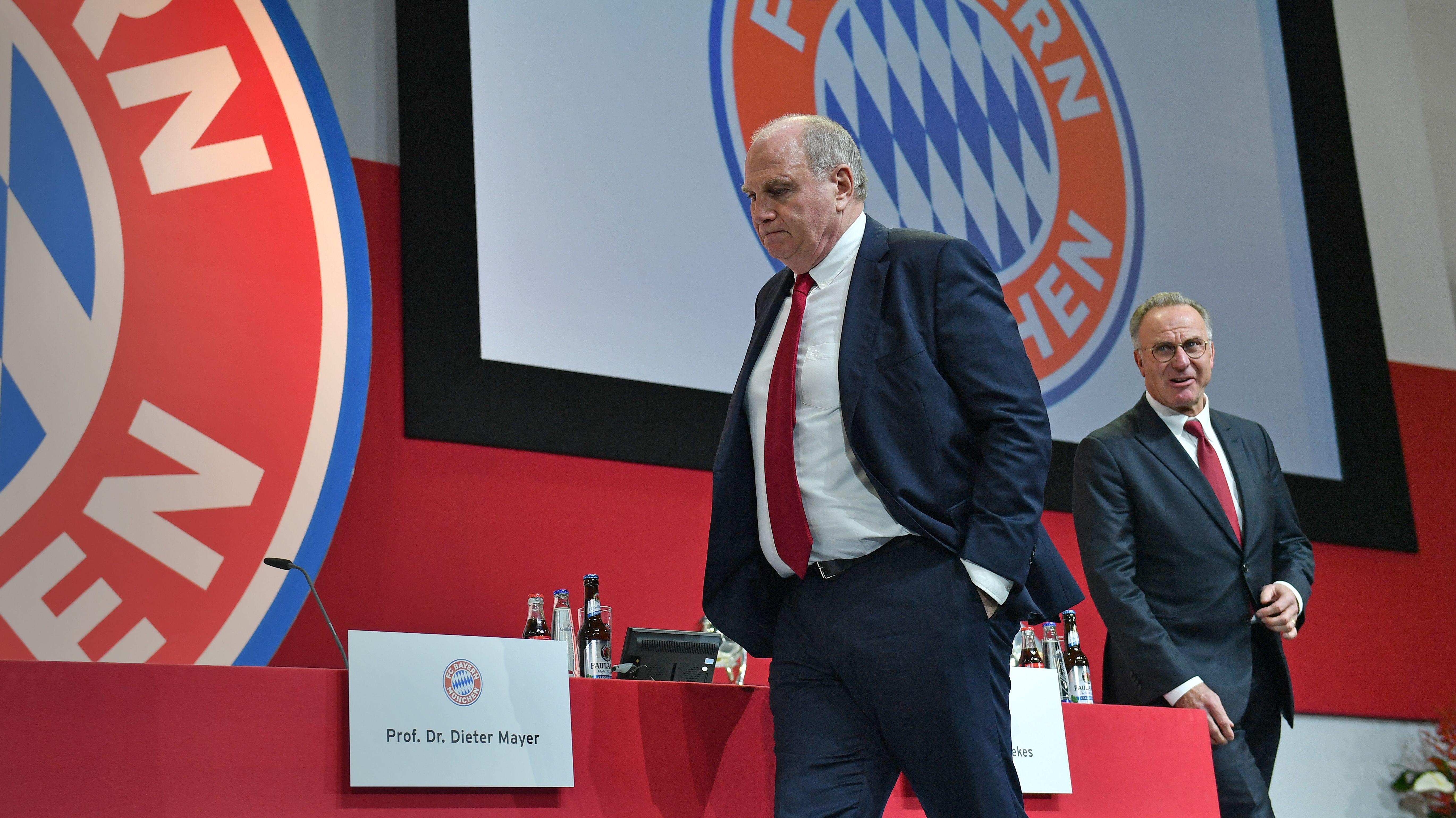 FC Bayern: Hoeneß bestätigt erstmals seinen Rückzug